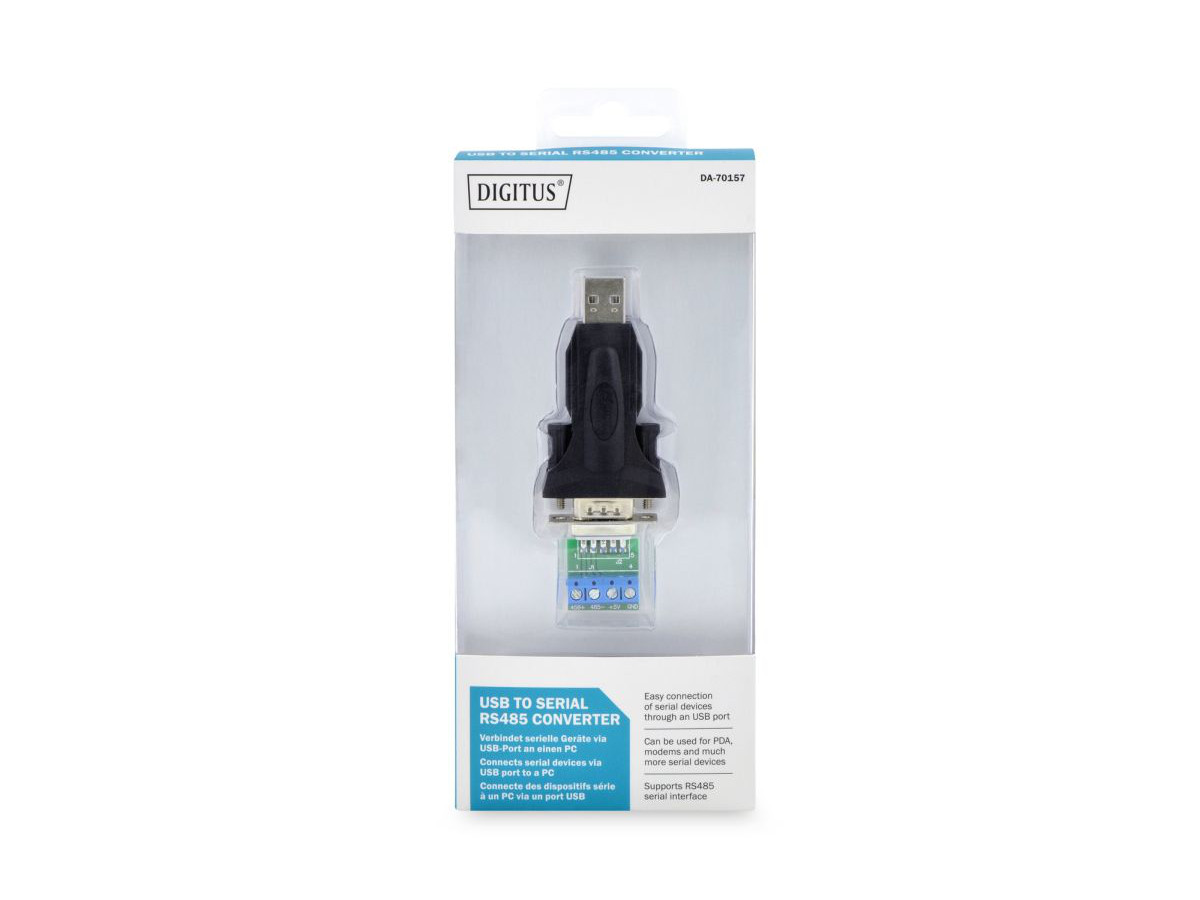 Konwerter/Adapter USB 2.0 do RS485 (DB9)